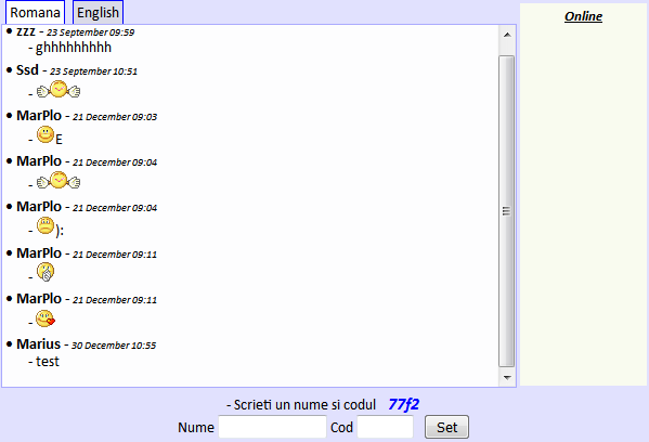 Script Chat PHP
